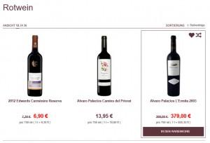 euro-Sales Vino Kachelansicht im Zoom