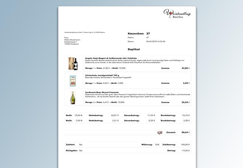 Musterkassenbon_DinA4 aus euro-Sales Vno