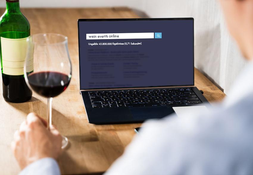 Blogartikel: Online Events: Alternative für Weinhändler?