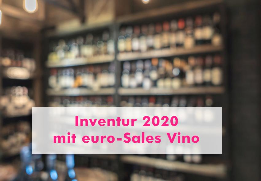 Inventur mit euro-Sales Vino
