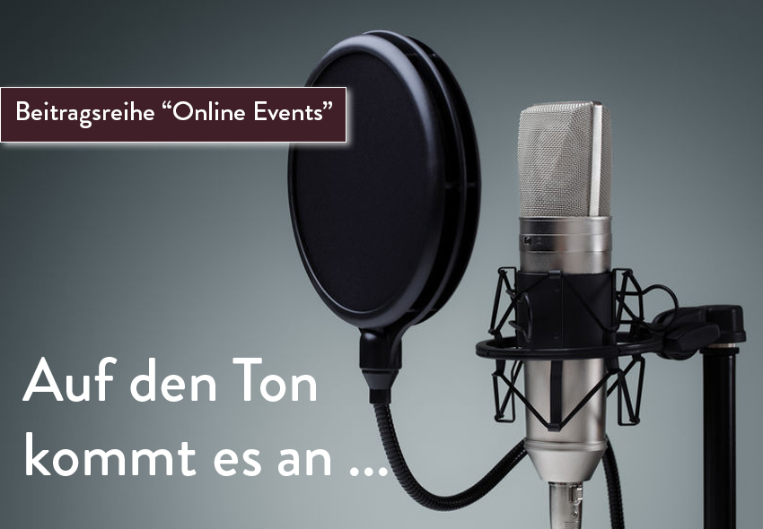 Online Events_Audioqualität