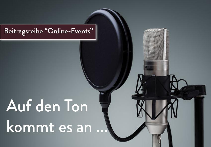 Online-Events professionell durchführen